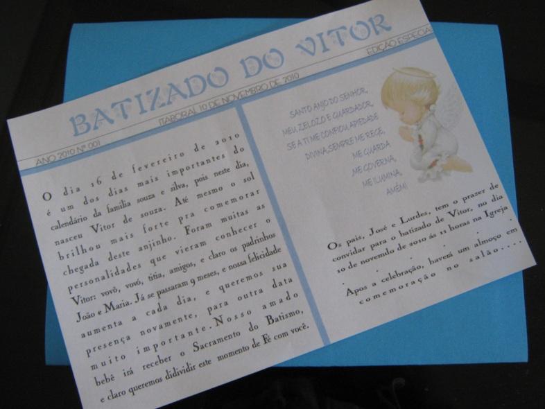 CONVITE BATIZADO, CONVITES BATIZADO, CONVITE BATIZADO MENINO, CONVITE BATIZADO INFANTIL, CONVITE INFANTIL