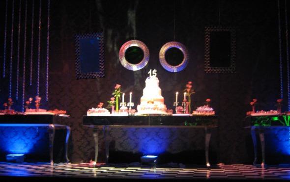 inspiração mesa bolo