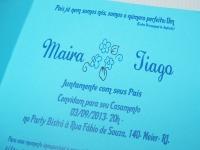 convite Renda Floral Tania Maria Ateliê